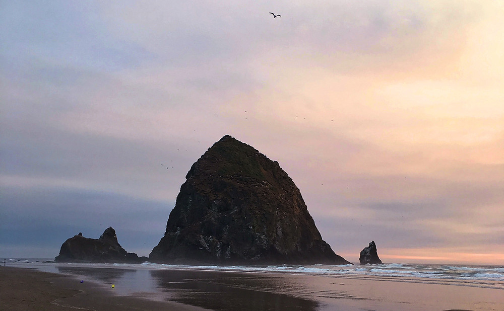 Haystack Rock - Cannon Beach | Sunburn in Seattle