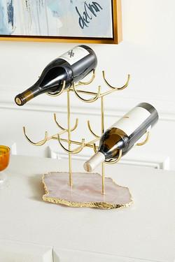 Anthro Rose Quartz Wine Rack