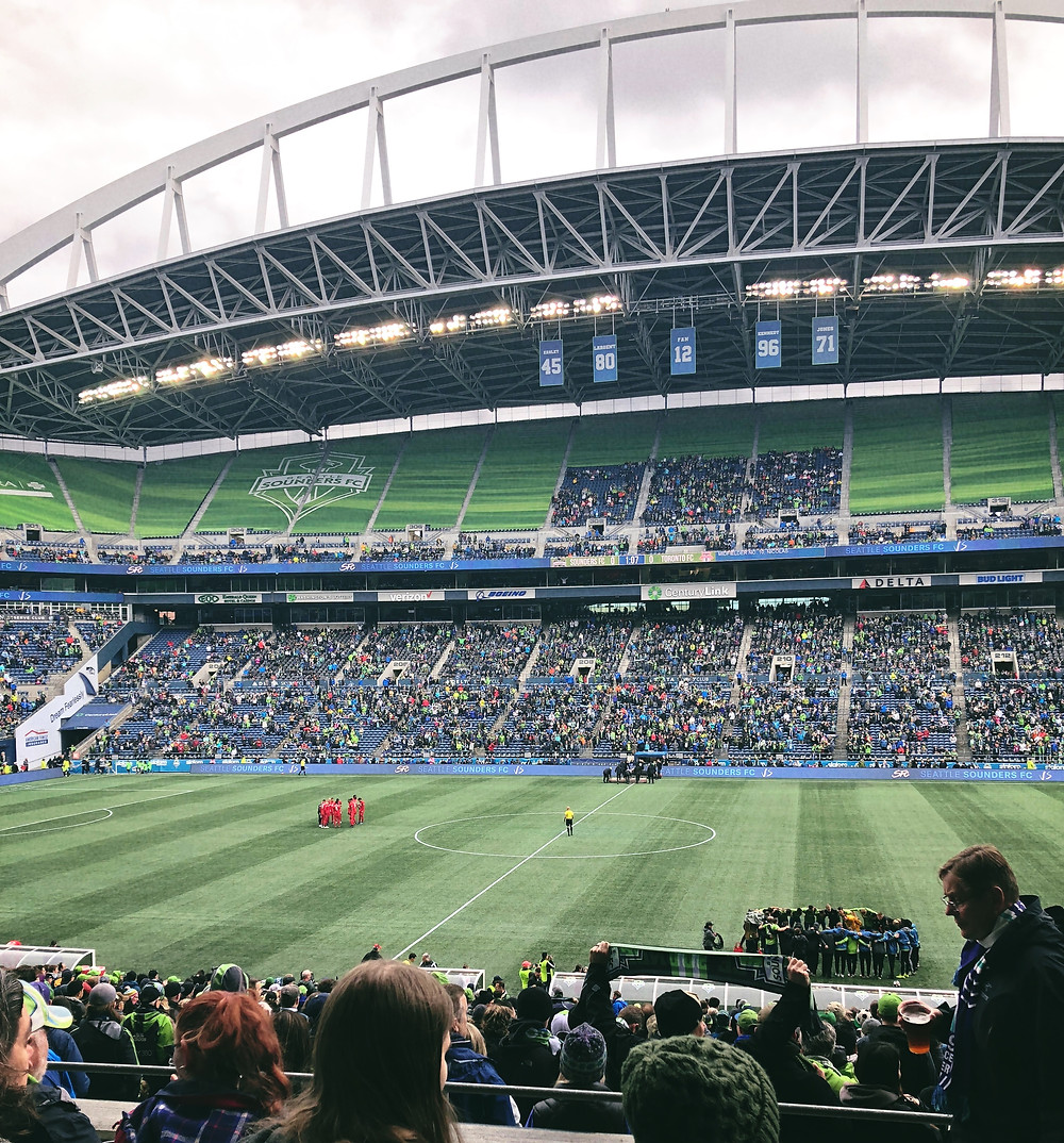 Sounders Game | Sunburn in Seattle