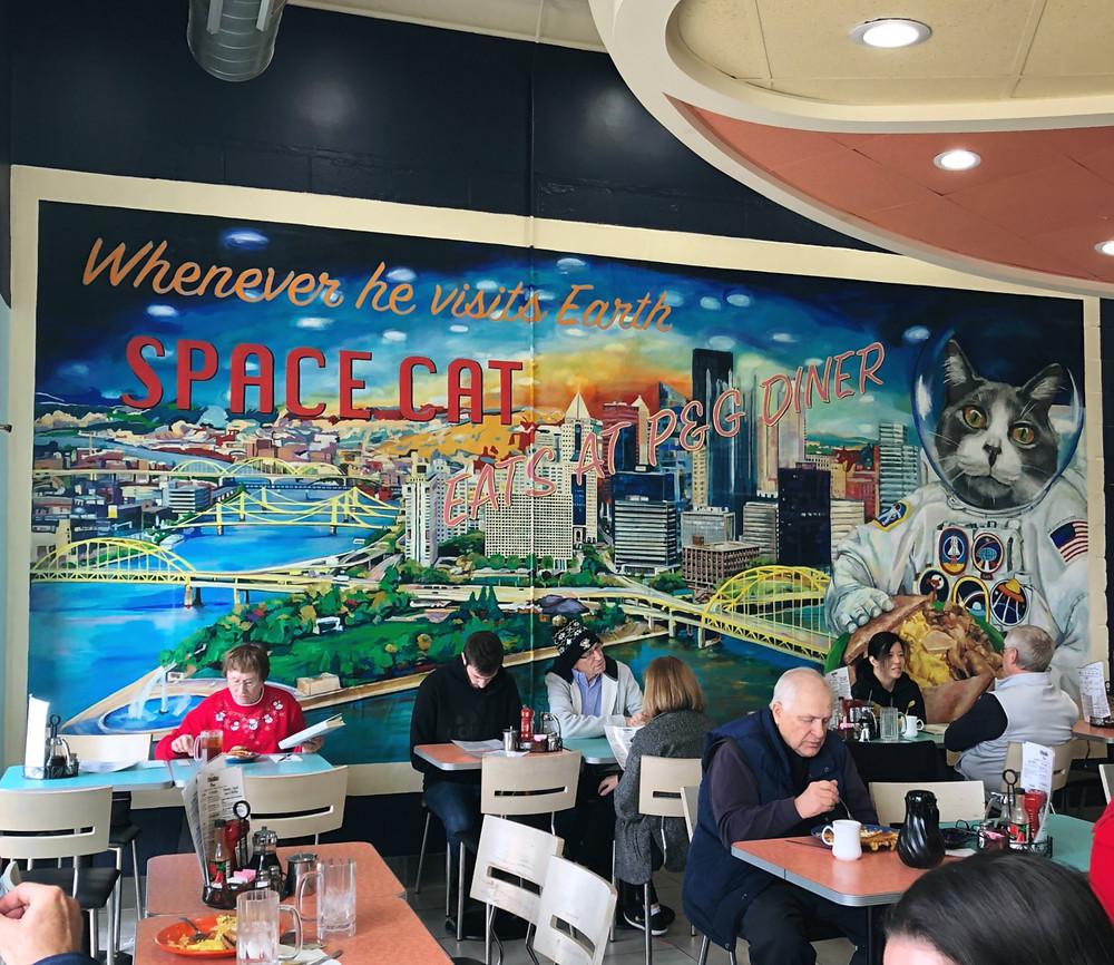 Pamela's Diner | Sunburn in Seattle