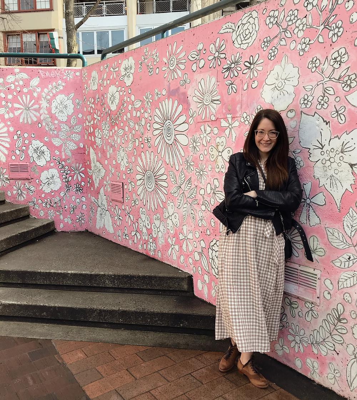 Floral Wall | Sunburn in Seattle