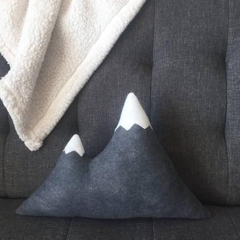 Wool Mountain Pillow | Sunburn in Seattle