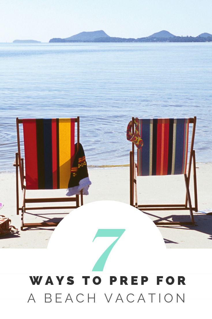 7 Ways to Prepare for a Beach Vacation | Sunburn in Seattle