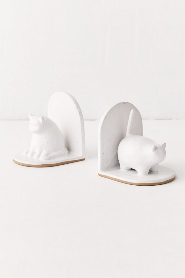 UO Cat Bookends