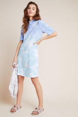 Anthro Heidi Mock Neck Dress