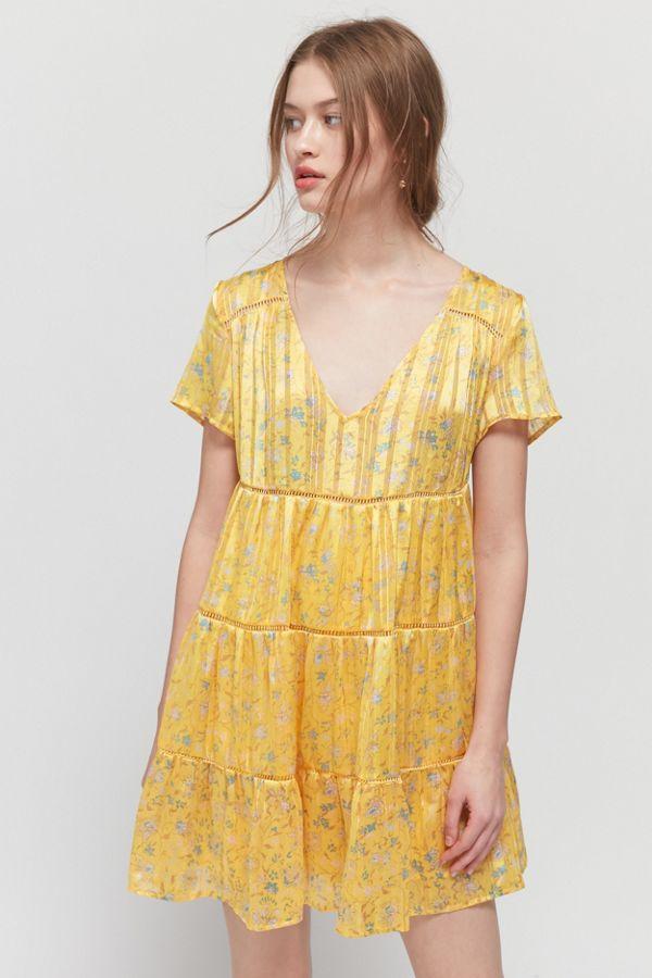 UO Pippa Chiffon Dress