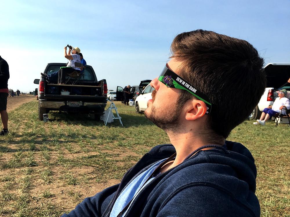 Eclipse Watching in Madras, OR | Sunburn in Seattle