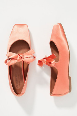 Jeffrey Campbell Bow Square Toed Flats