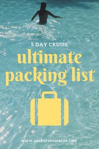 Ultimate Packing List | Sunburn in Seattle