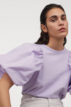 H&M Puff Sleeve Top