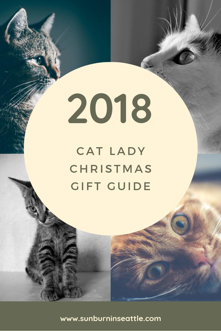 2018 Cat Lady Gift Guide | Sunburn in Seattle