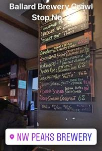 NW Peaks Brewery   Sunburn in Seattle