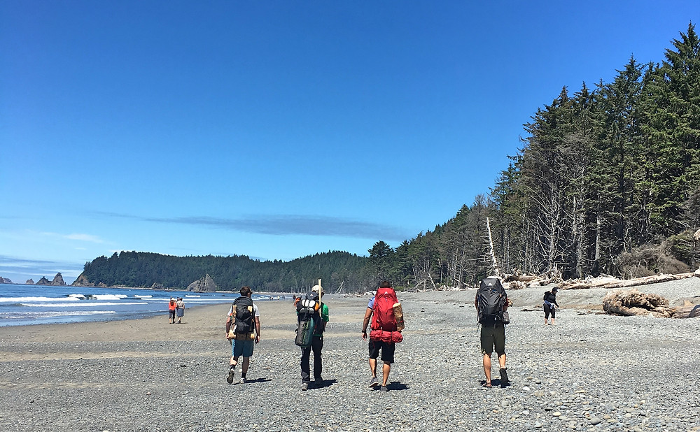 Backpacking on Rialto Beach | Sunburn in Seattle