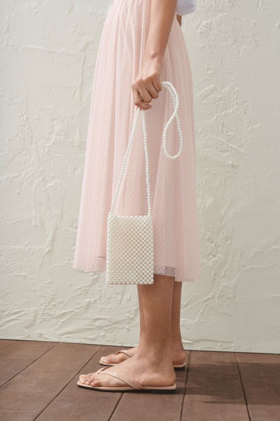 H&M Dotted Tulle Skirt