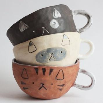 Cat Soup Bowl | Sunburn in Seattle