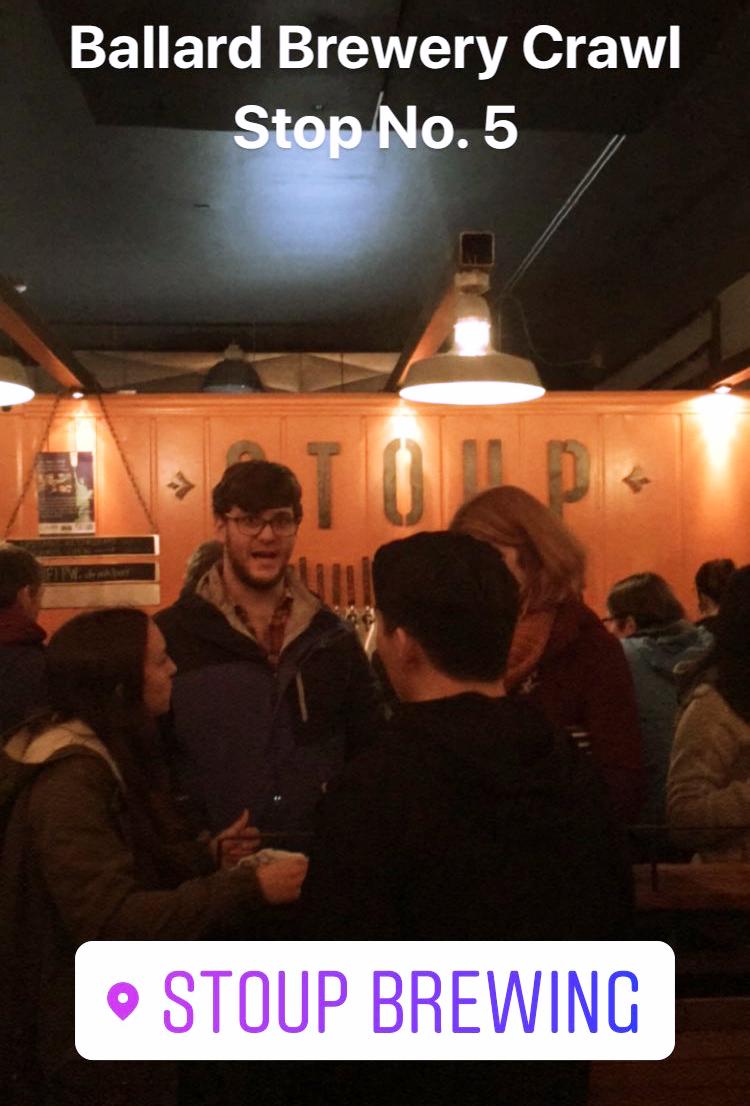 Stoup Brewing | Sunburn in Seattle
