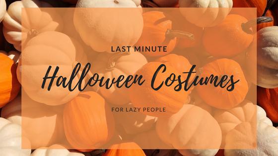 Last Minute Halloween Costumes | Sunburn in Seattle