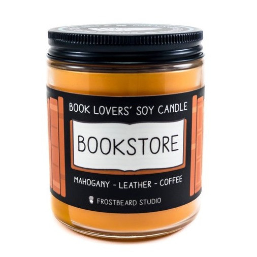 Bookstore Scented Candle | Sunburn in Seattle
