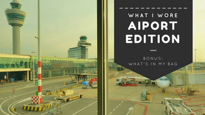 What I Wore: Airport Edition | Sunburn in Seattle