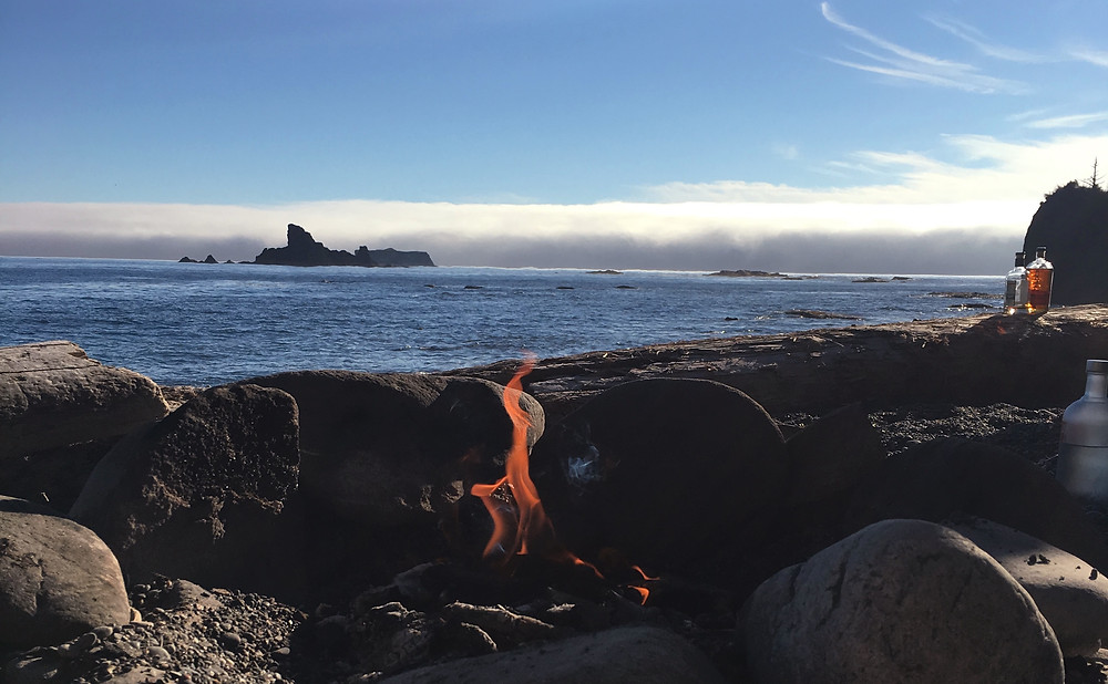 Campfire - Rialto Beach | Sunburn in Seattle