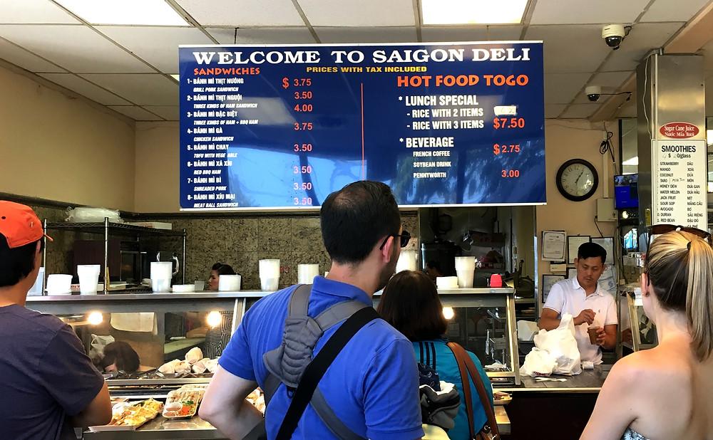 Saigon Deli Menu - International District | Sunburn in Seattle