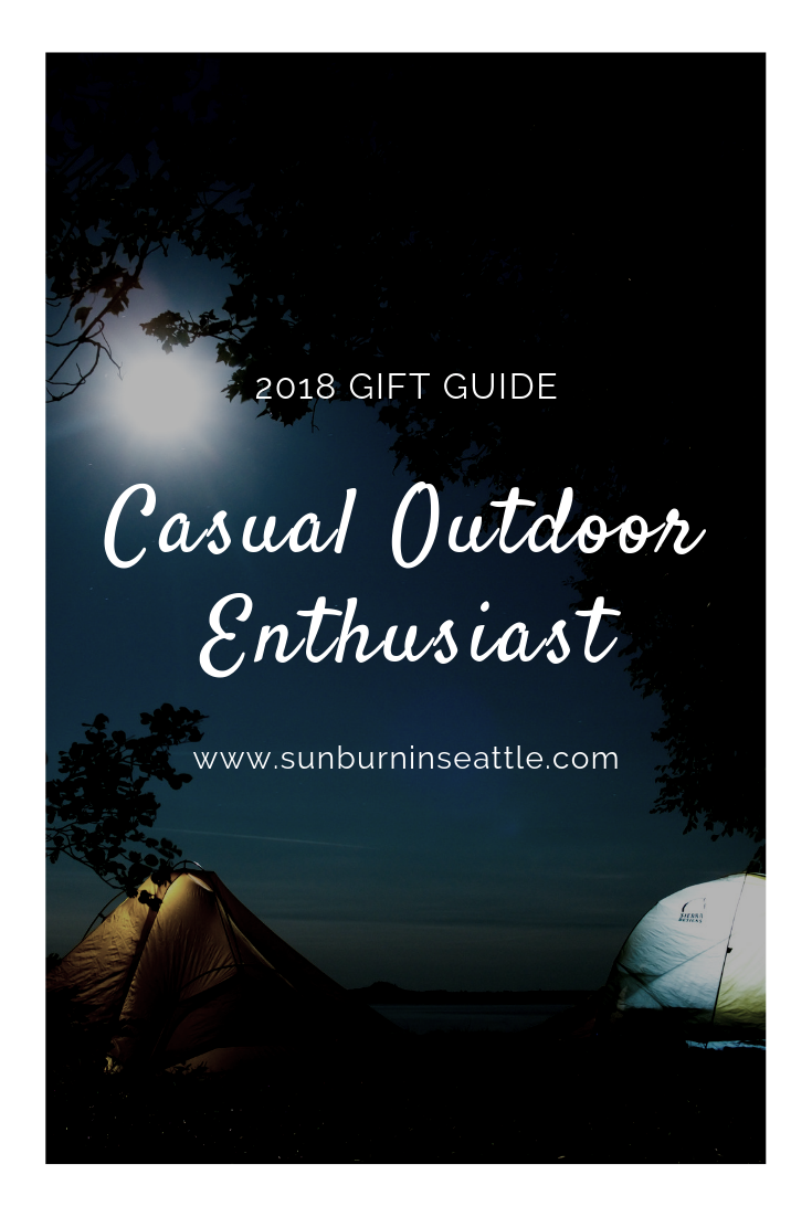 2018 Gift Guide - Casual Outdoor Enthusiast | Sunburn in Seattle
