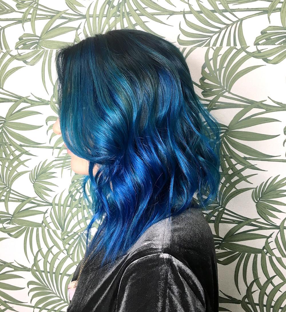 Blue Hair | Sunburn in Seattle