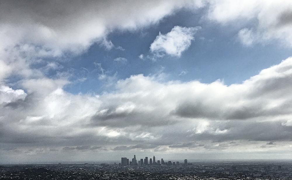 Downtown Los Angeles Skyline | Sunburn in Seattle