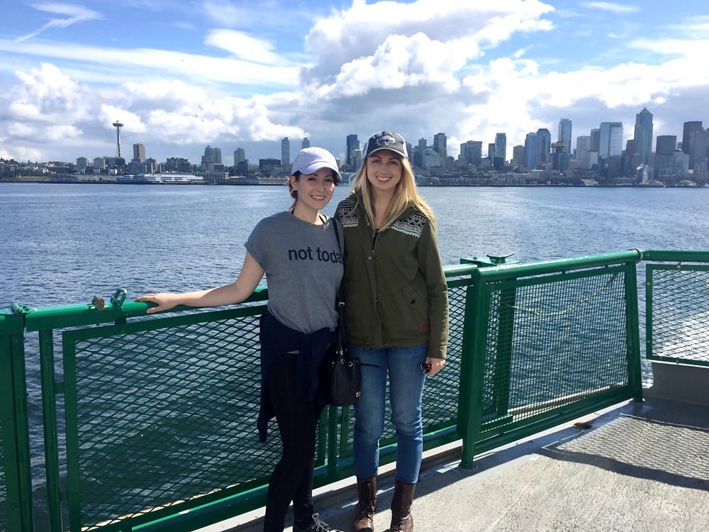 Seattle Ferry Ride | Sunburn in Seattle