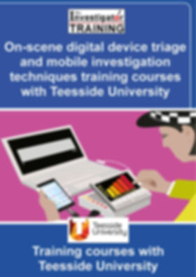 On-scene digital device triage and mobil
