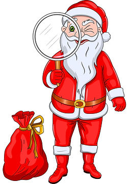 santa-claus-with-magnify-glass-vector-17
