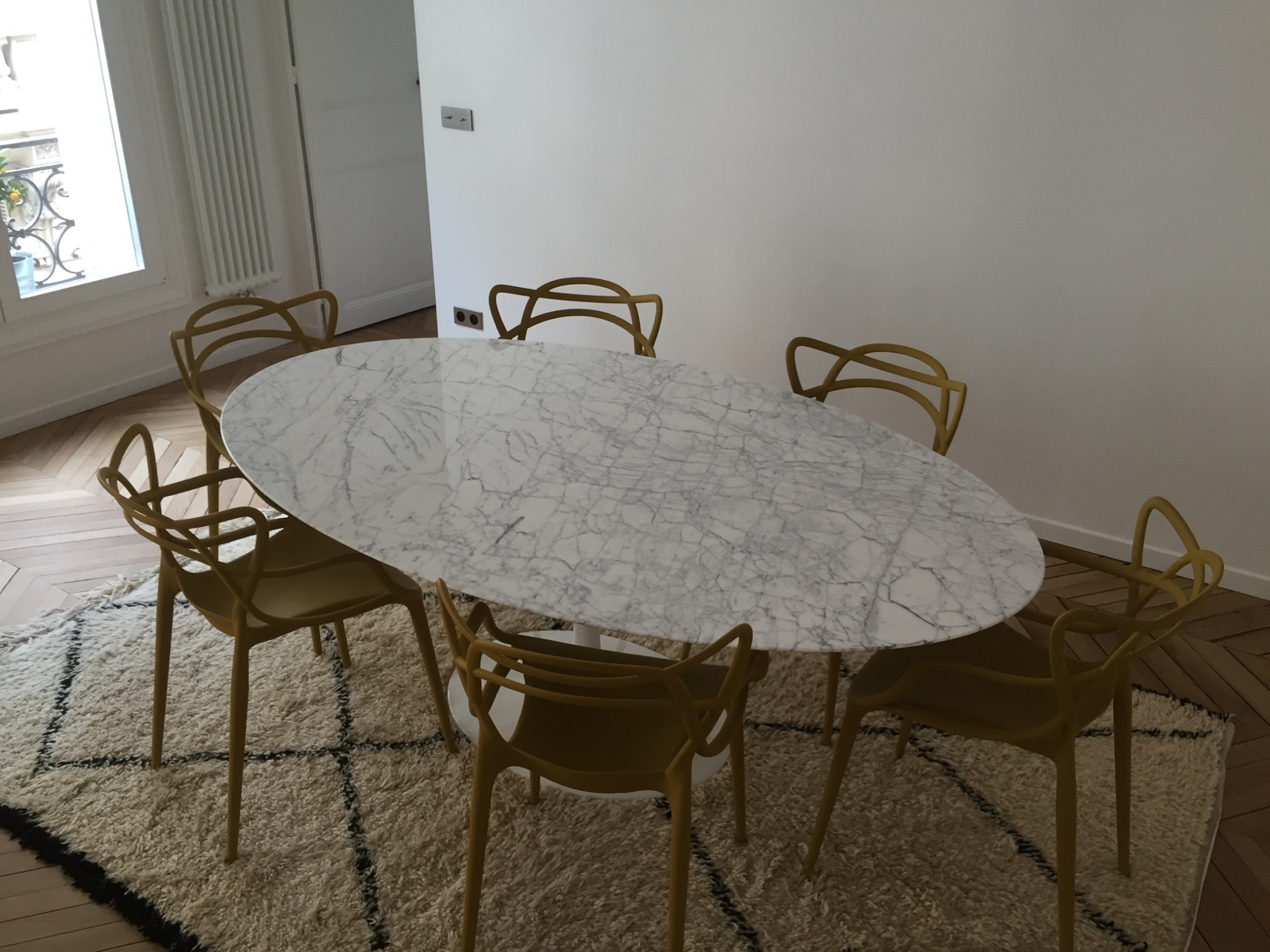 Table en Marbre Carrare