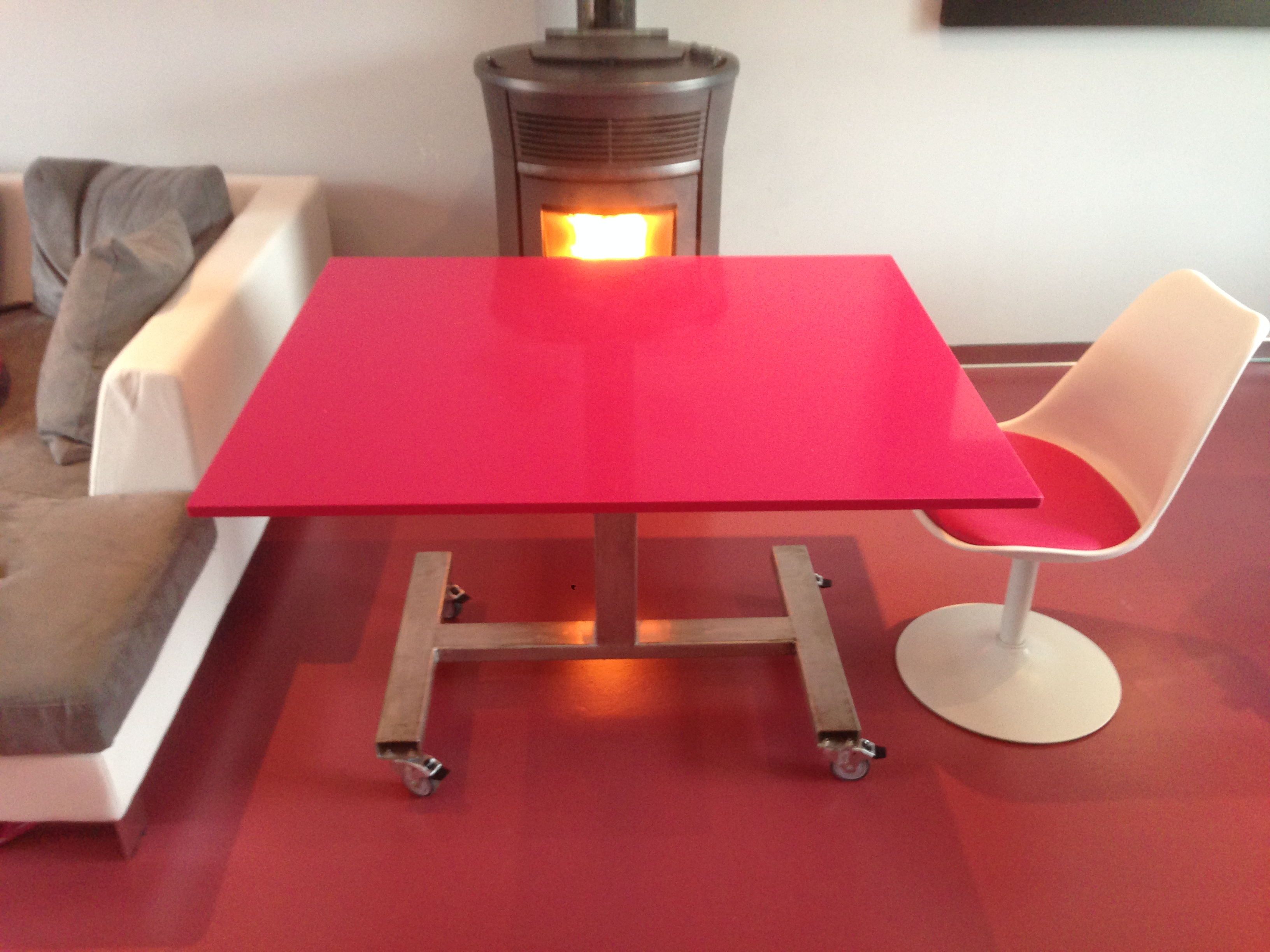 table sur mesure QUARTZ SILESTONE