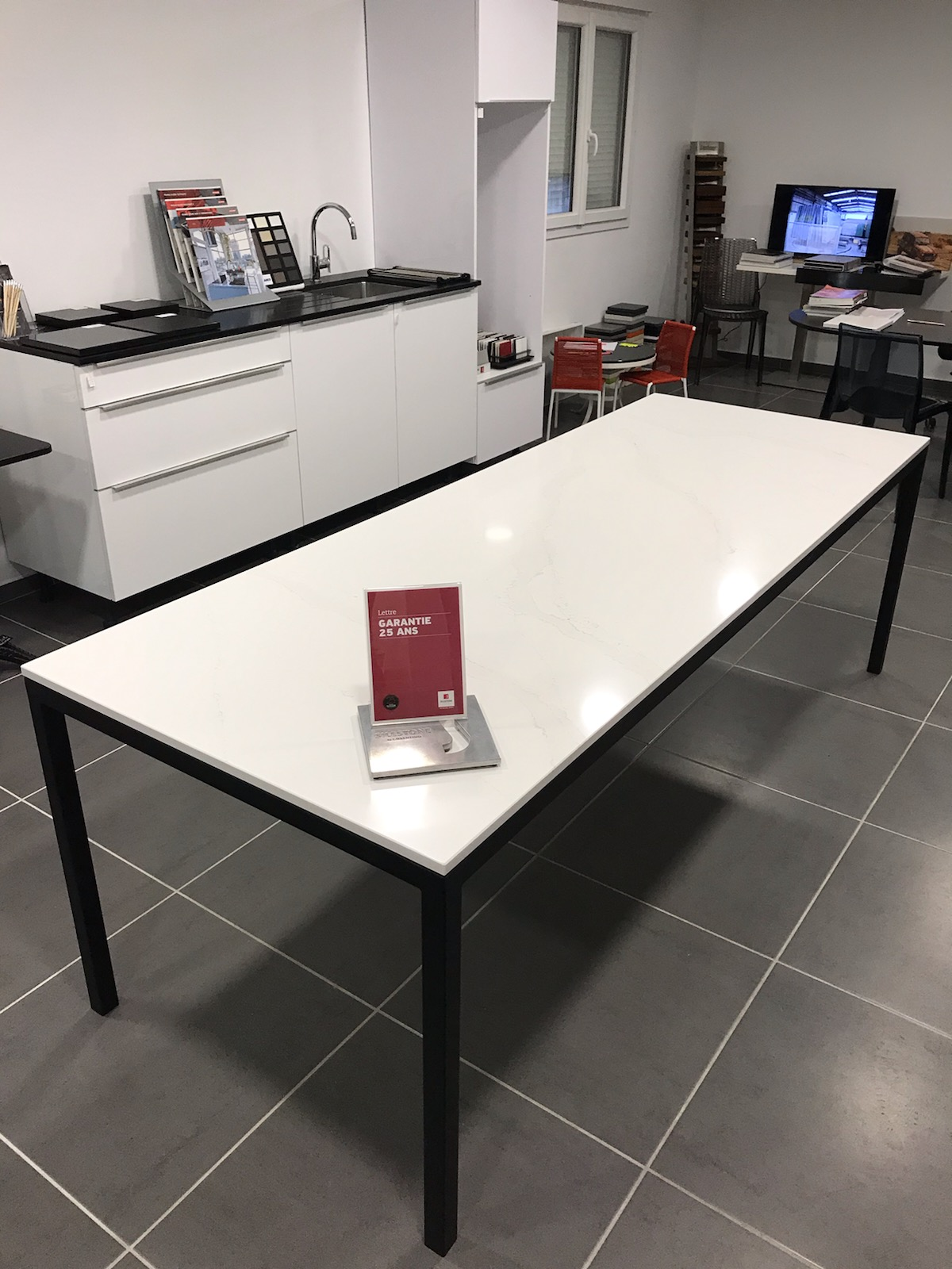 Table en Quartz Silestone