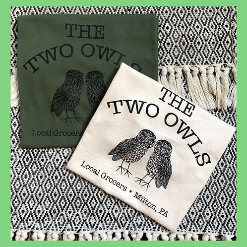 The Two Owls T-shirts!
