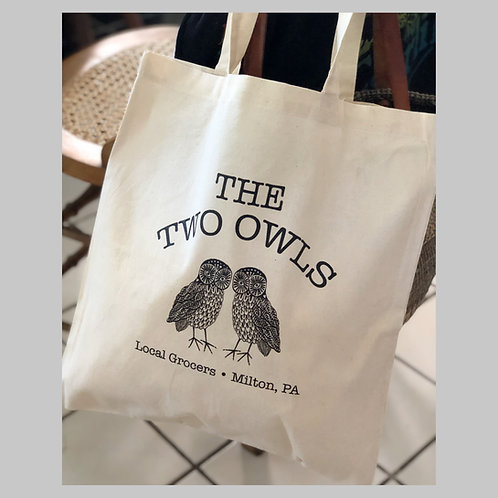 The Two Owls - Reusable Shopping Bags