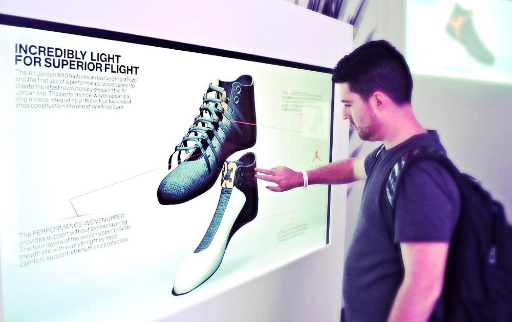 Nike Interactive Wall