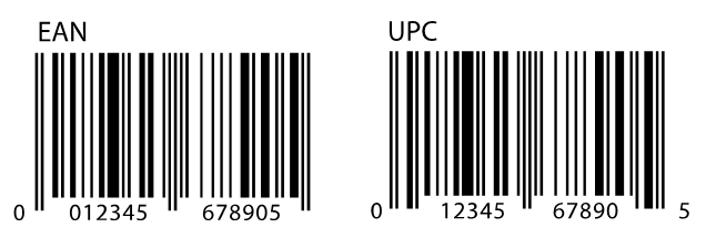 EAN vs UPC Barcode