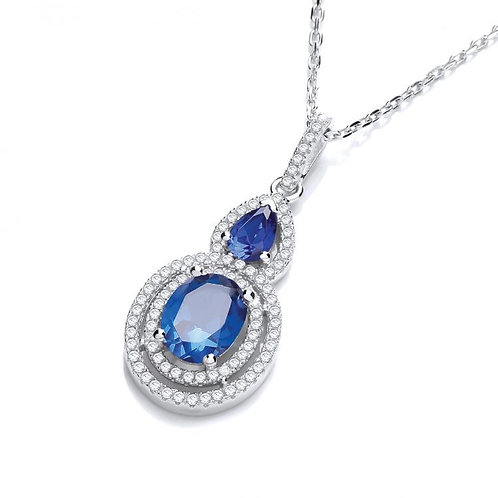 Cassandra Blue Pendant