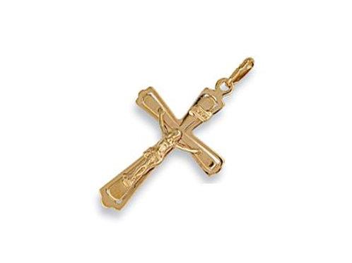 9ct Cut out Crucifix