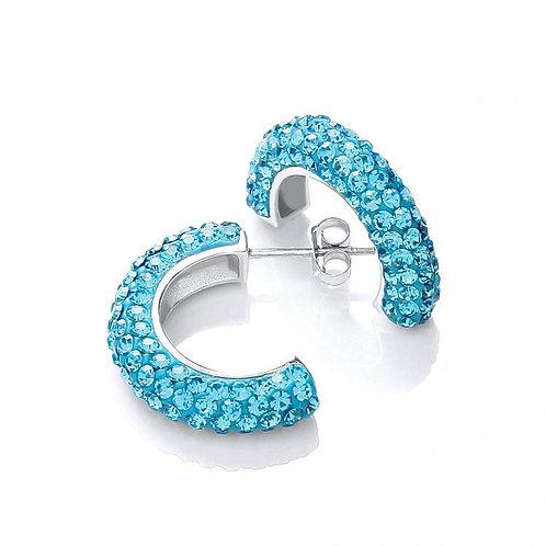 Roxy Blue Hoops
