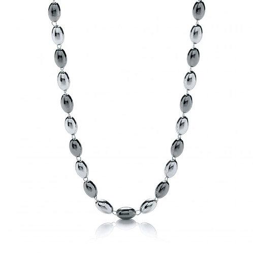 Ashanti Silver & Ruthenium Necklace
