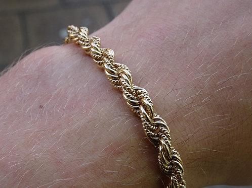 9ct Rope Bracelet