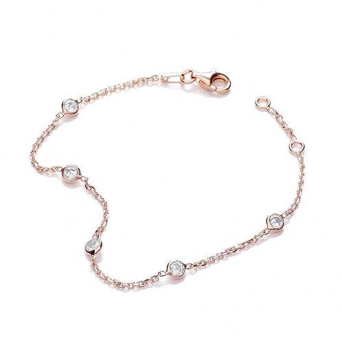 Giovanna Rose Gold Plated Bracelet