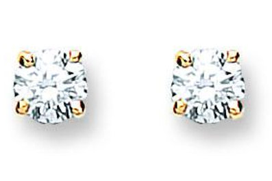 18ct YG 0.25ct Diamond Studs