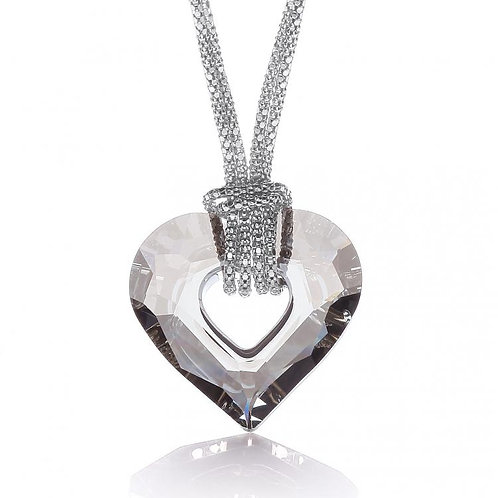 Lexie Swarovski Medium Heart Necklace
