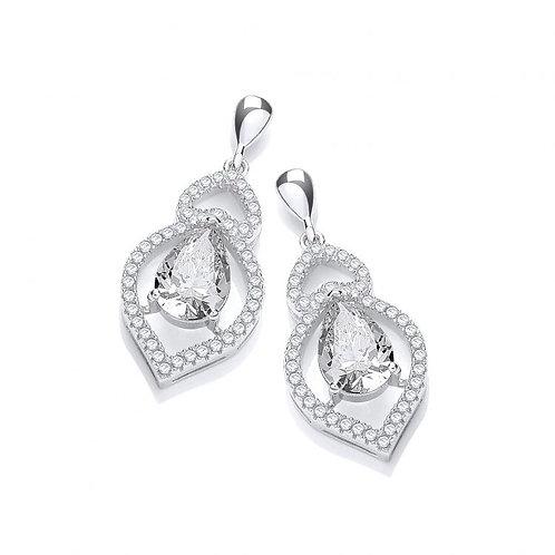 Alicia Clear Earrings