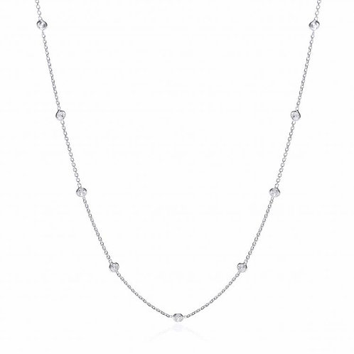 Giovanna Silver Necklace