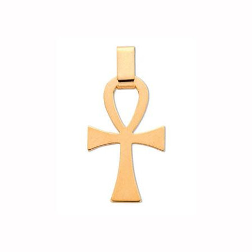 9ct Anchor Cross