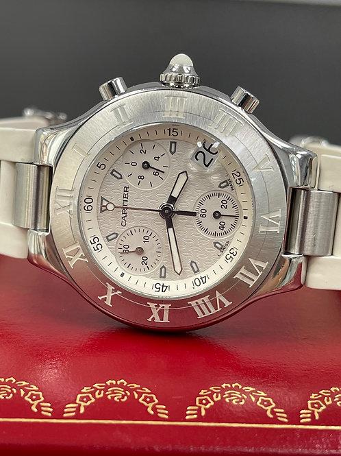 Cartier Chronograph 21